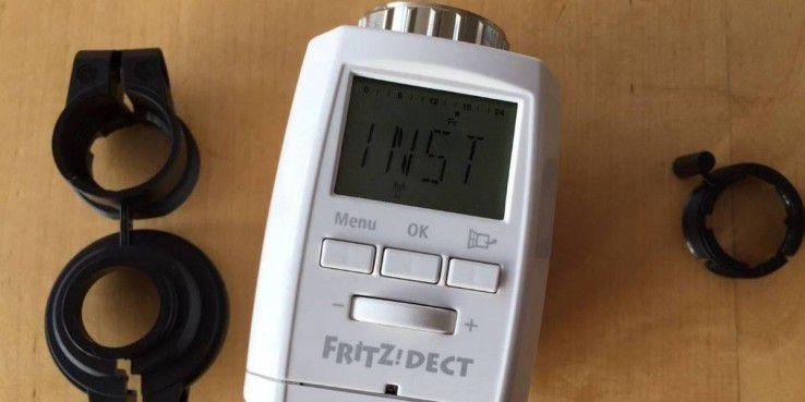 Fritz Dect 300 von AVM kommt mit drei Adaptern, die man aber nicht immer benötigt.