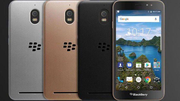 Das Blackberry Aurora kommt in drei Farben auf den - indonesischen - Markt.