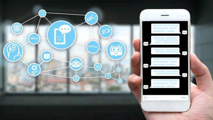 Benutzerschnittstelle eines Chatbots können Smartphones und Tablets, aber auch spezielle Hardware wie Amazon Echo sein.