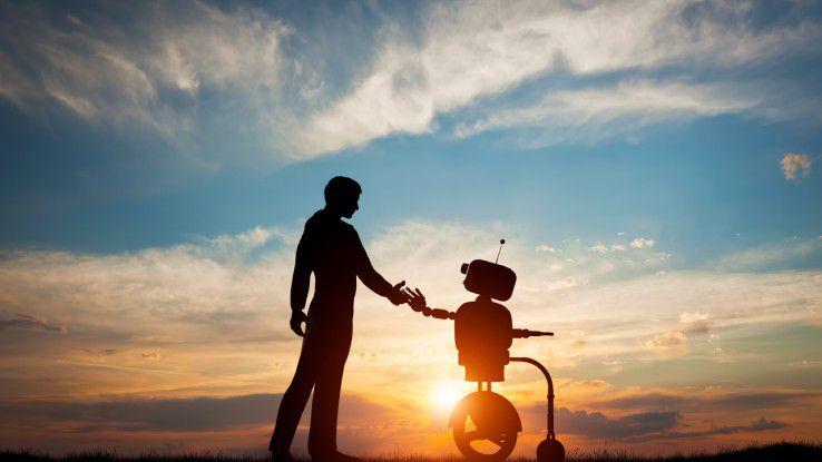Cloud-Services senken die Einstiegshürde für Artificial Intelligence auf ein akzeptables Niveau.