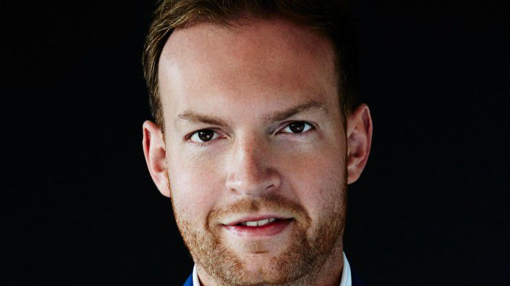 """Manuel Gerres, Chef der Deutsche Bahn Digital Ventures: """"35 Millionen Daten in unserem Open-Data-Portal bilden für Entwickler und Gründer eine hübsche Spielwiese."""""""