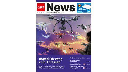 CeBIT News Ausgabe 1 zum kostenlosen Download