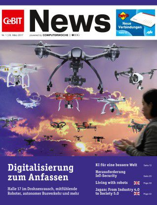 CeBIT News Ausgabe 1 gibt es zum kostenlosen Download.