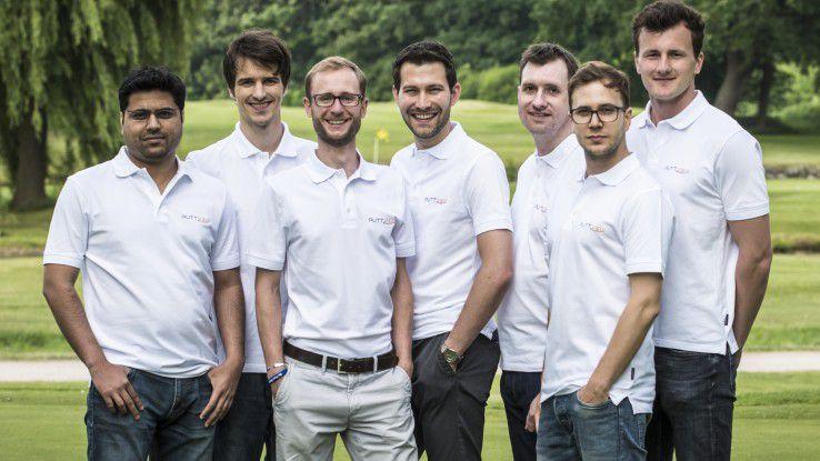 Golftraining 4.0: Das Team von Viewlicity hat mit Puttview eine Augmented-Reality-Anwendung geschaffen, die Golfspielern beim Putten hilft und die Ideallinie anzeigt.