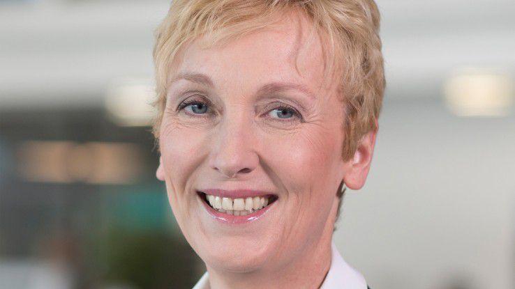 Sabine Bendiek, Vorsitzende der Geschäftsführung von Microsoft Deutschland, betont, dass die eigenen Cloud-Dienste aus deutschen Rechenzentren heraus auch strenegn Compliance-Anforderungen genügen.