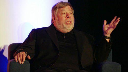 Steve Wozniak spricht im März 2017 auf der IEEE TechIgnite in Burlingame, Kalifornien.