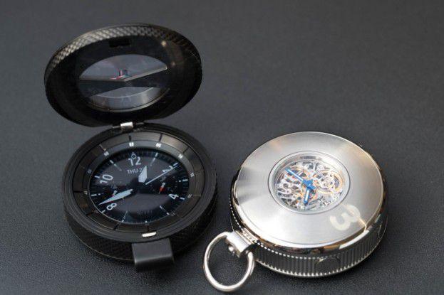 Bislang ist noch unbekannt, ob die Samsung Gear 3 im Taschenuhr-Format auch in den Handel kommt.