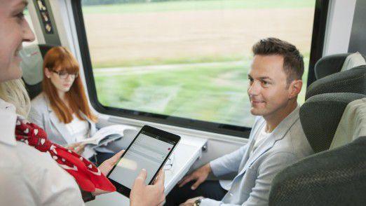 Die Zugbegleiter der ÖBB arbeiten künftig mit iPad und neuen Apps