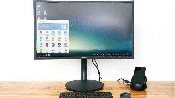 Spannend: Um Dex zum Fliegen zu bringen, kooperiert Samsung mit Firmen wie Microsoft, Adobe (Apps), Citrix, VMware oder AWS (Virtual Desktop).