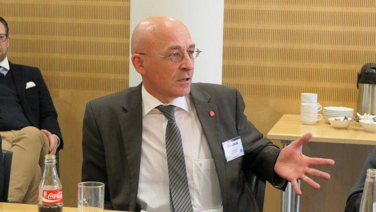 Ulf Diestel, Fujitsu: Es ist schwierig, Technologien auszuwählen, die Business-Nutzen bringen und gleichzeitig auch wirtschaftlich sind.