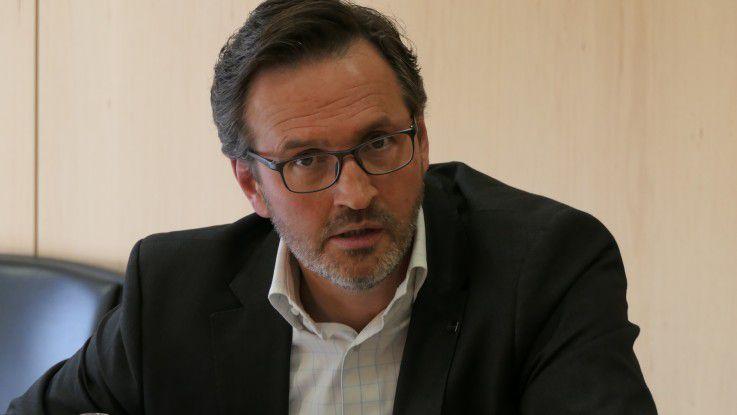 Michael Gerner, Aruba: Der Arbeitsplatz der Zukunft soll die Innovationskraft der Mitarbeiter fördern, um wettbewerbsfähig zu bleiben.