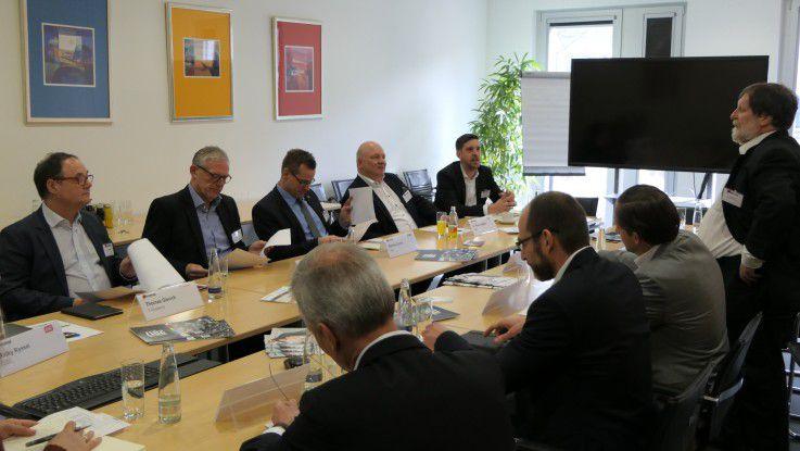 Elf Experten diskutierten am COMPUTERWOCHE-Round-Table über den Arbeitsplatz der Zukunft.