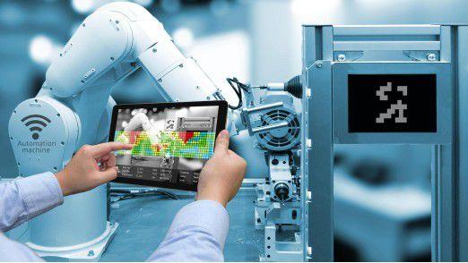 Industrie 4.0 treibt die Wirtschaft an.