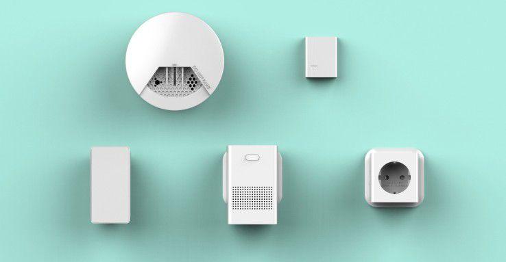 Sercomm bietet verschiedenartige Sensoren und Aktoren mit der neuen DECT-ULE-Funktechnologie an.
