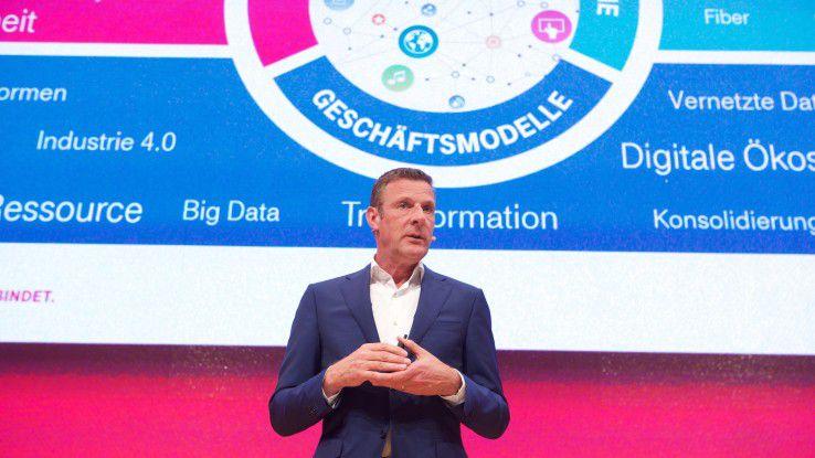 Telekom-Deutschland-Chef Niek Jan van Damme verlässt zum Jahresende den Carrier.
