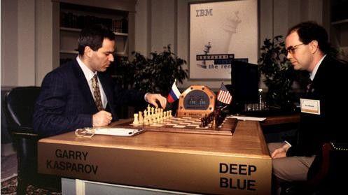 1997 bezwang erstmals ein Computer – IBMs Deep Blue – den amtierenden Schachweltmeister.