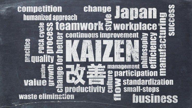 Die japanische Lebens- und Arbeitsphilosophie Kaizen soll helfen, eine nachhaltige agile Organisation zu schaffen und Mitarbeiter für Industrie 4.0 zu motivieren.