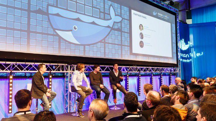 Schon die DockerCon 2016 (Bild) war sehr gut besucht. Auch die derzeit laufende Konferenz in Austin, Texas, ist ausverkauft.