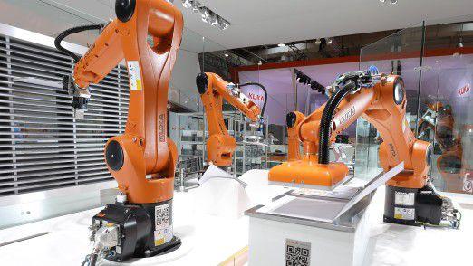 Roboterhersteller Kuka legt Wert auf eine flexible Systemstruktur.