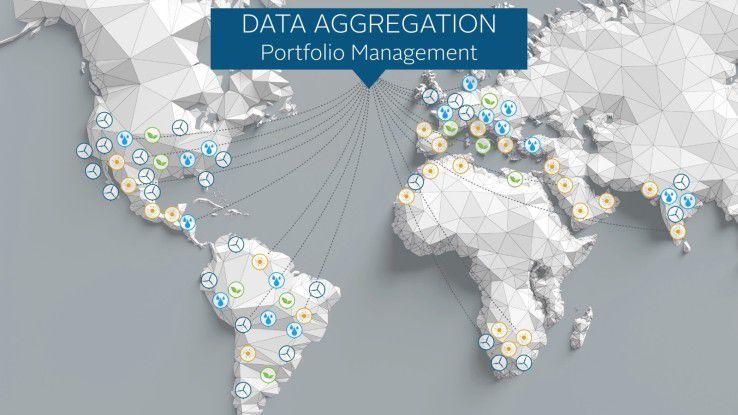Die mit ARISTOTELES gesammelten Daten lassen sich in beliebiger Aggregation und Granularität durchführen – vom Länderportfolio bis zur einzelnen Turbine.