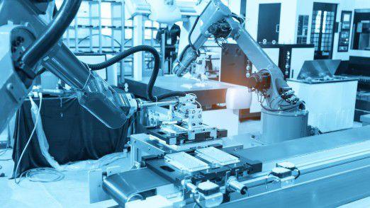 Technologie für die Industrie 4.0 (Industrial Internet of Things - IIoT) bildet die Realität in Echtzeit auf allen browserfähigen Endgeräten ab