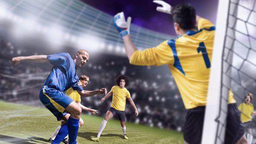 Auch bei Sportereignissen spielt Augmented Reality heute eine wichtige Rolle.