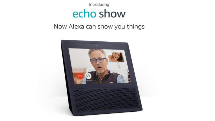 Amazon Alexa hat ein neues Zuhause: Echo Show