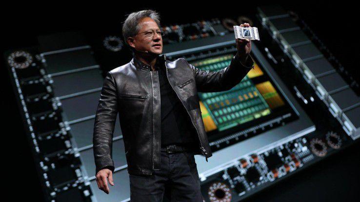 Für Jensen Huang, Gründer und CEO von Nvidia, sind Themen wie Künstliche Intelligenz (KI) und Machine Learning (KL) die Zukunft.