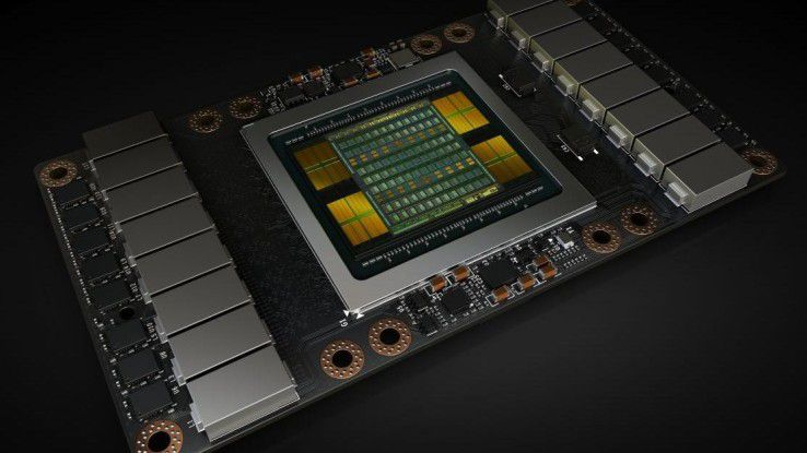 Nvidias neue Grafikchip beinhaltet über 21 Milliarden Transistoren und 5120 Rechenkerne.