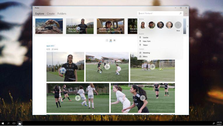 Windows Story Remix soll per künstlicher Intelligenz und Deep Learning Geschichten erzählen.