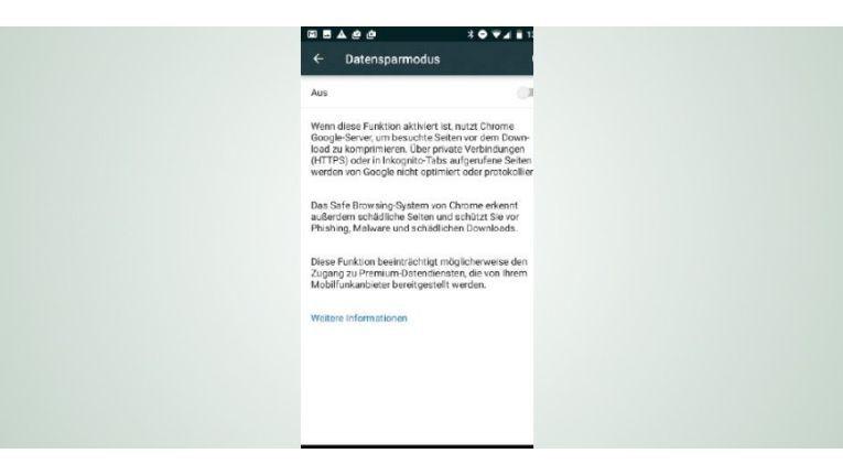 Sparen Sie beim mobilen Datenverbrauch, indem Sie den Sparmodus im Google-Chrome- Browser aktivieren.