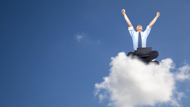 Ab in die Cloud - das gilt künftig auch für das Daten-Management.