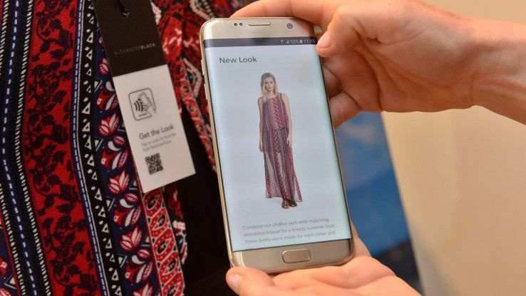 Ebenso erwarten die Kunden beim Shopping automatische Empfehlungen.