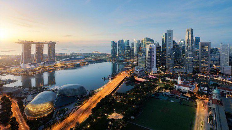 Singapur: Datenerhebung und -analyse sollen vor Epidemien und anderen Katastrophen schützen.