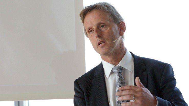 Knut Jessen, CTO von Berenberg, schloss den Konferenztag mit seiner Keynote.