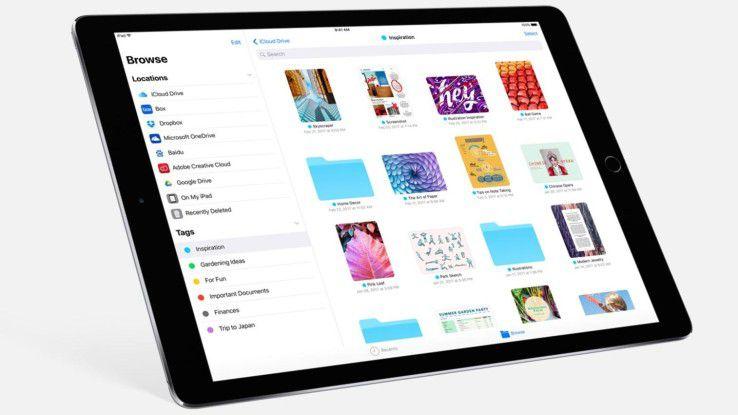 Unverhofft kommt oft: Mit der Files-App bietet Apple in iOS 11 endlich eine Art Datei-Manager