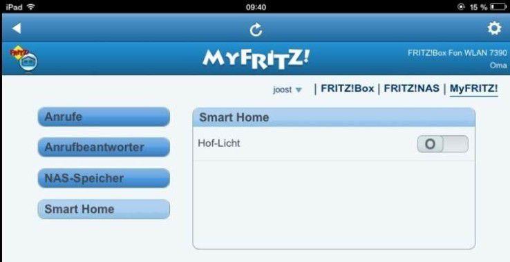 Einige Smarthome-Lösungen lassen sich über das Internet steuern.