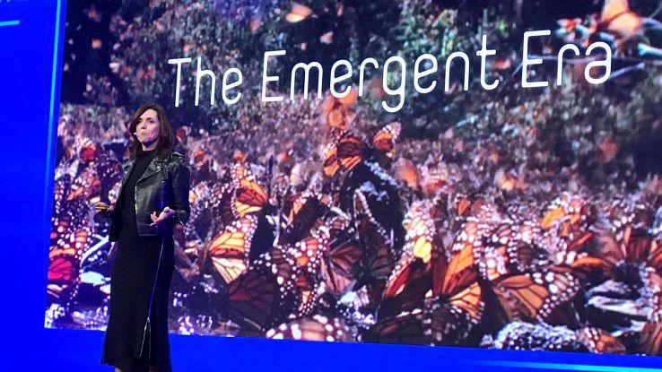 Beth Comstock, ViceChair GE, sieht die Industrie in einer Übergangsphase.