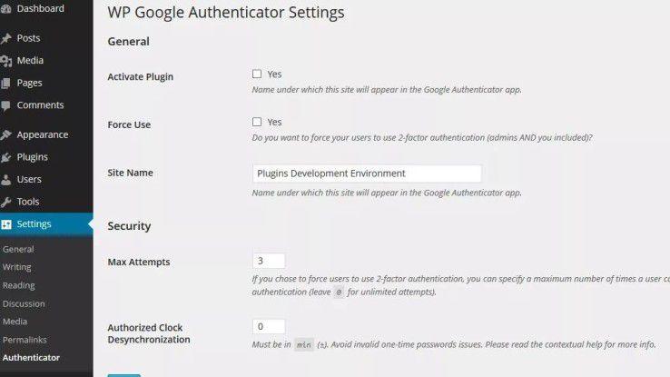 Mit dem Google-Authenticator lassen sich WordPress-Installationen mit Multi-Faktor-Authentifizierung absichern.