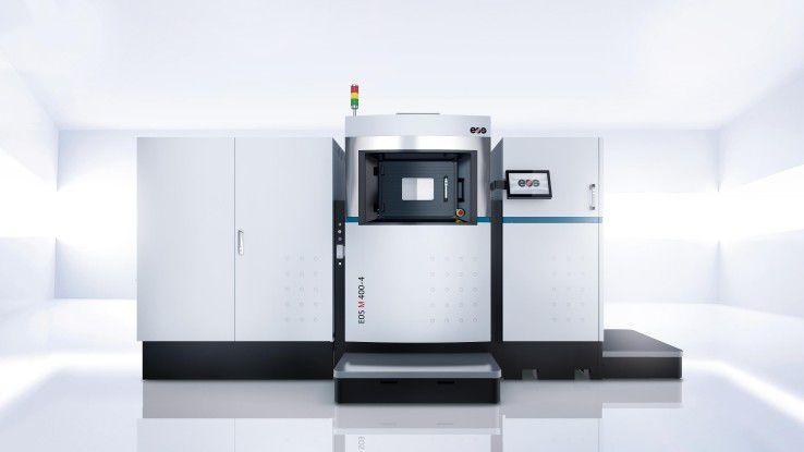 Durch den Einsatz des 3D-Druckers EOS M 400-4, der mit vier Lasern druckt, konnte die ArianeGroup die Herstellungskosten des Einspritzkopfes um 50 Prozent reduzieren.