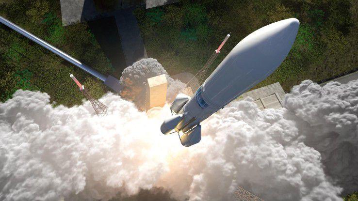 Die Ariane 6 soll ab 2025 die Ariane 5 als Trägerrakete ablösen und günstiger sein.