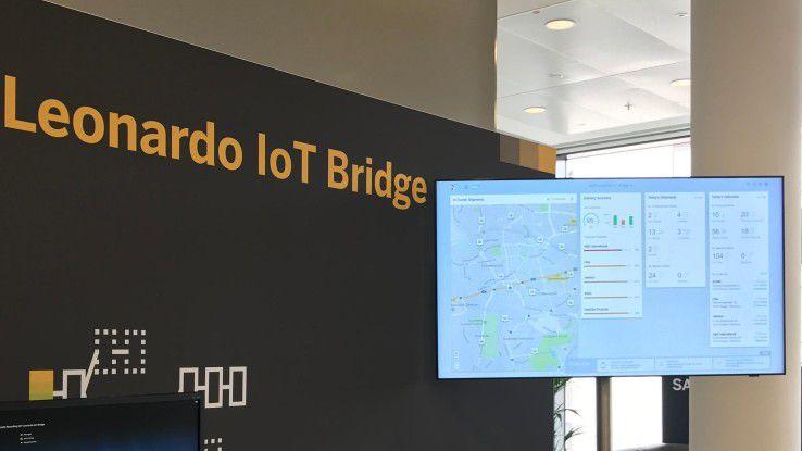 Die SAP Leonardo IoT Bridge bietet über ein zentrales Dashboard Informationsgrundlagen für fundierte Entscheidungen und sofortiges Handeln.