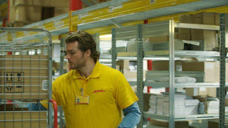 Der Logistik-Dienstleister DHL nutzt eine Order-Picking-Lösung von Ubimax und Glass Enterprise Edition zum Kommissionieren.