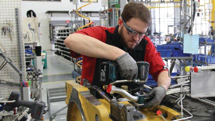 Die Monteure des US-Herstellers von Landwirtschaftsmaschinen AGCO gehören zu den Pilotnutzer der Glass Enterprise Edition.