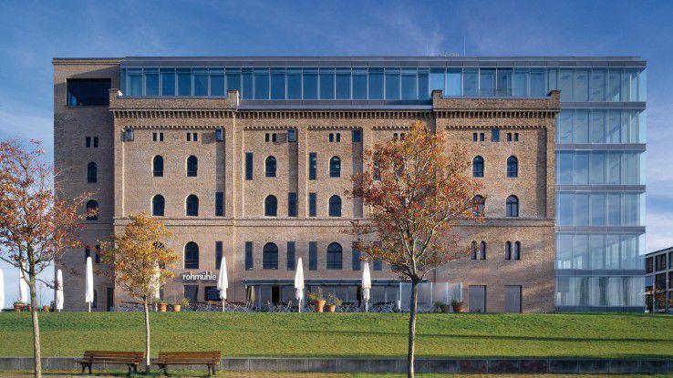Die Bonner Rohmühle ist das Hauptquartier von Scopevisio. Es gehört zu den vielen Immobilien, die Haas und Wilbert besitzen (ebenso das Kameha Grand Bonn Hotel).