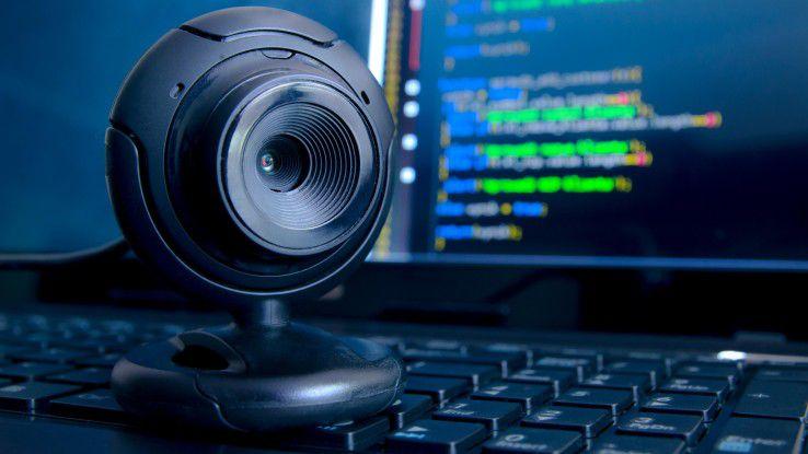 Die Schwachstellen in vielen Webcams sind eine Einladung für Hacker.