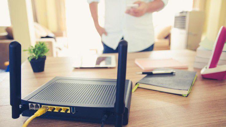 Häufig sind mangelhaft gesicherte Router bereits ein erstes Einfallstor ins Smart Home.