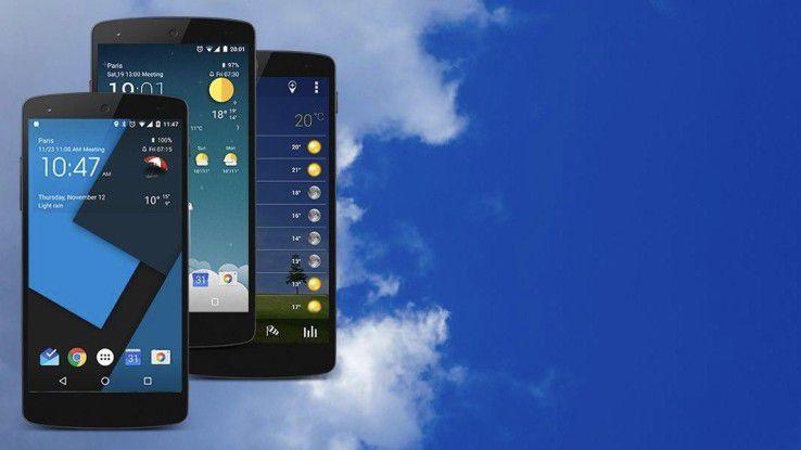 Widgets sorgen für Ordnung auf dem Homescreen
