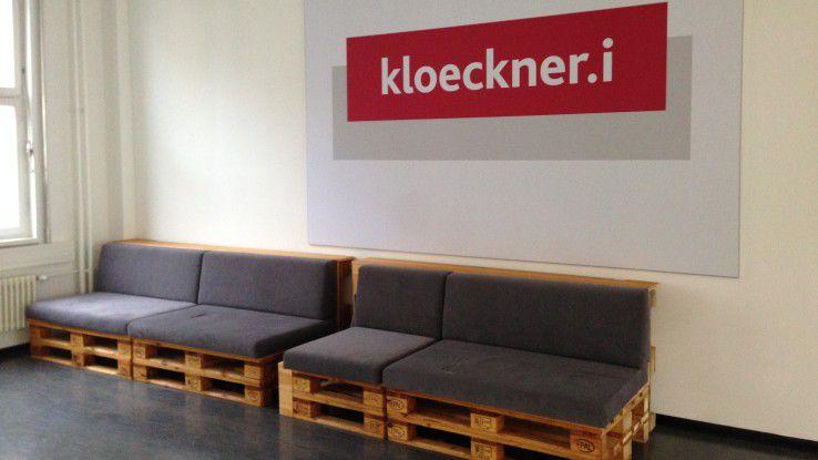 klockner.i, das Digital Lab von Klöckner & Co. wächst so schnell, dass selbst innerhalb der neuen Räumlichkeiten bald umgezogen werden muss.