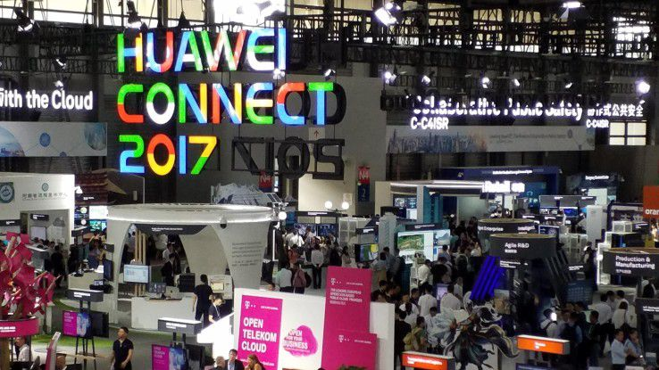 In Sachen Cloud setzt Huawei auf Allianzen wie etwa mit der Telekom und der Open Telekom Cloud.